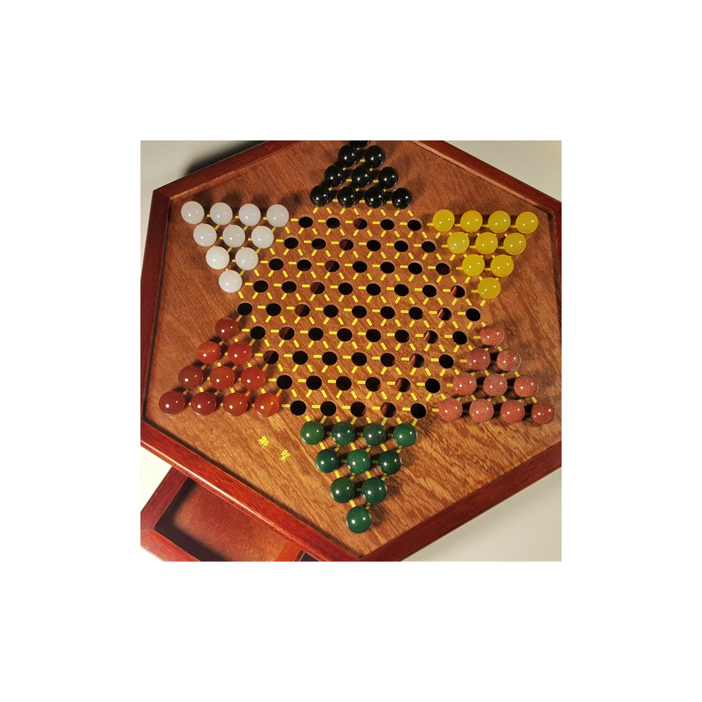 Gem Stones Chinese Checkers Game Aobo Store
