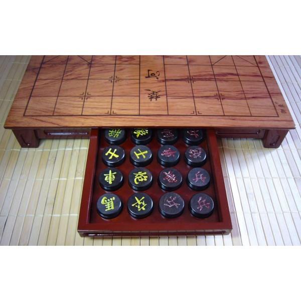 Ebony Xiangqi Set Chinese Chess Equipment