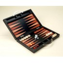 Backgammon - Deluxe leather Set