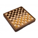 Magnetic Wooden Checkers 30cm