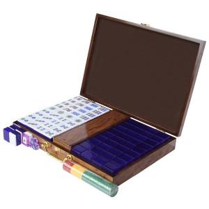 Mahjong Purple Color Mahjong Set Aobo Store